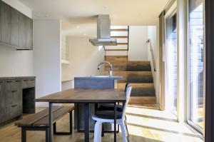 キッチン階段